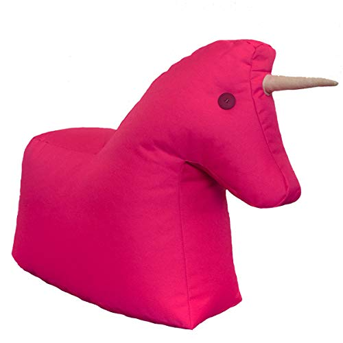 Sitting Bull - Happy Zoo - Einhorn - Pink - 100{158e621e31477a1e933223e36075c22e158c2bb059f3390289ab4876ab9e2930} Polyester - (LxBxH): 73 x 30 x 50 cm - streng Limitierte Sonderedition