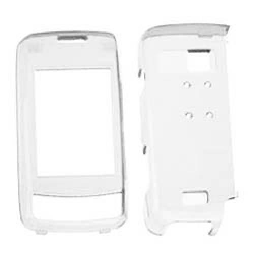 Hard Kunststoff Snap on Cover für LG VX10000Voyager Transparent Klar Verizon (Nicht Fit LG VX11000EnV Touch) Env-snap
