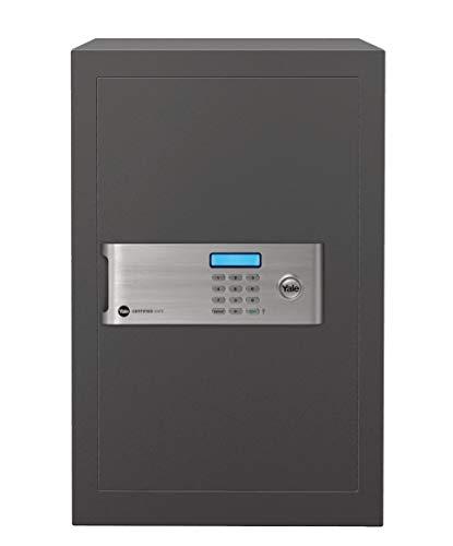 Yale YSM/520/EG1 Coffre-Fort Haute Sécurité à Serrure Electronique 100 000 Combinaisons, (Certifié SKG), A Poser et Sceller | Format Professionnel 52 x 35 x 36 cm (49,8L), Anthracite
