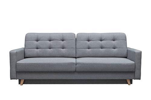 mb-moebel Schlafsofa Kippsofa Sofa mit Schlaffunktion Klappsofa Bettfunktion mit Bettkasten...
