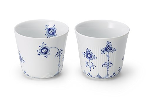 Royal Copenhagen Blue Elements Multi Cup 25cl 2pc - Royal Copenhagen Elements
