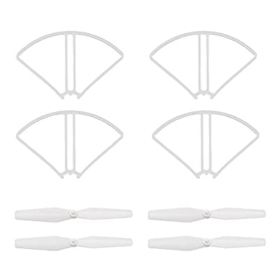 Potensic Propellers, 4 Blades Helices para GPS Drone T25