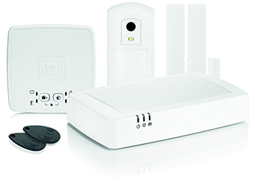 Honeywell Home evohome security Funk-Alarmanlagen Set mit Kamera, HS912S (Direktionale Wlan-router)