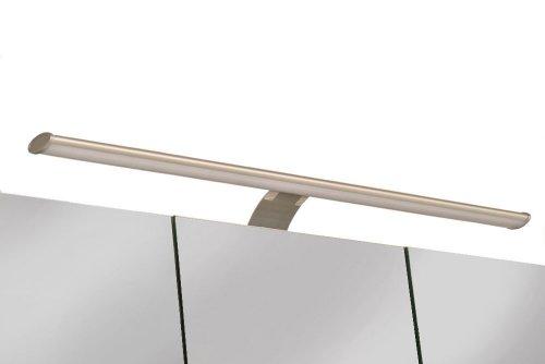 SAM® Badezimmer Spiegelschrank Beleuchtung Set, 60 cm, Badezimmerlampe mit Energie-Box für optimale Beleuchtung über Ihrem Spiegel