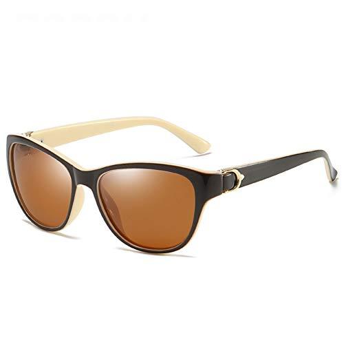 TOOSD Polarisierte Sportbrille Damen Radsport-Brillen Mit Brillen-Etui unzerbrechlichem Rahmen Leicht Fahren Sonnenbrille Outdoor Sportbrille,D