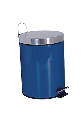 """MSV 100513 Kosmetikeimer \""""Blau\"""" - 3 Liter – mit herausnehmbaren Inneneimer"""