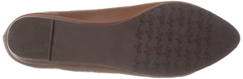 Soft Style by Hush Puppies Women's Darlene Flat, Mid Brown, 7 N US Mid Brown Leather