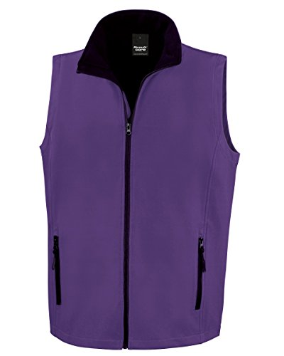Result - Blouson - Homme Purple/Black