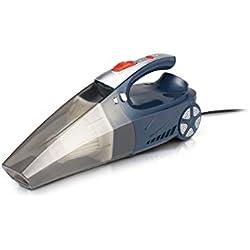 WOLFGANG Aspirateur Voiture, Mini aspirateur Portable, Aspirateur sans Fil, Aspirateur 4 en 1, gonflage de Roue, Mesure de Pression, éclairage LED, Réservoir 300ml, 120W, 12V, 25L / Min