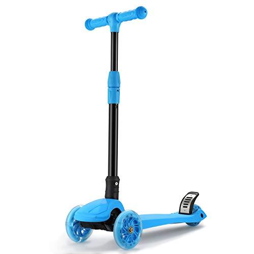Fascol Patinete de 3 Ruedas con Diseño Scooter para Niños de 2...