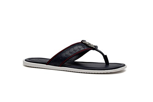 OPP Homme Sandales de la Mode Chaussures en Cuir 2016 Nouvelle Collection 2990-Bleu