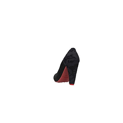 Desigual - Chaussures Femme Noire Tango Noire Brillante