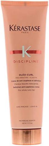 Kerastase Discipline Oleo-Curl Creme, 5.1 Ounce