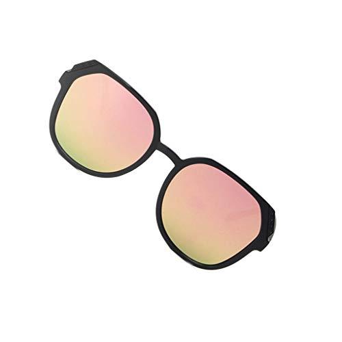 Jinzuke Frauen Männer UV400 Retro Sonnenbrille Weibliche Dame Mädchen mit großem Rahmen Brillen Driving Oval Brillen