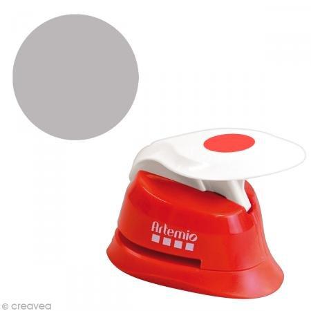 Artemio 1,6 cm Perforadora círculos Eva, Rojo
