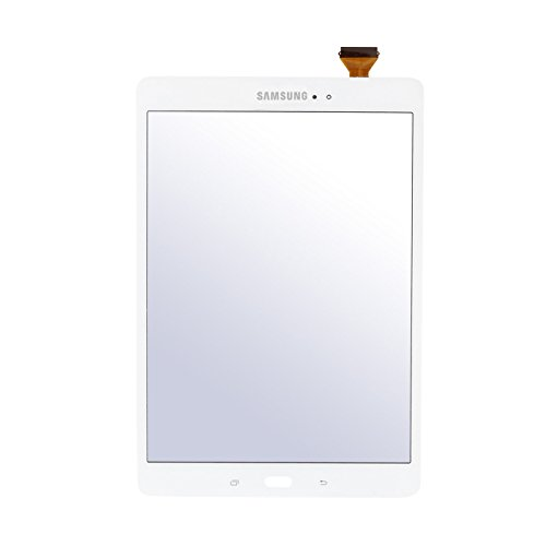 galaxy tab a display Frontglas Display Touchscreen Ersatzglas mit Digitizer für Samsung Galaxy Tab A T550 T555 (9,7 Zoll) Weiß