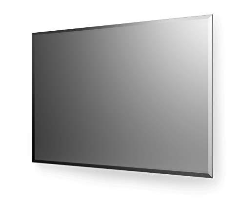 Spiegelando KRISTALLSPIEGEL rechteckig mit 20mm Facette - individuell nach Maß auswählen - Made in Germany - 5 Jahre Garantie - Auswahl: (Breite) 70 cm x (Höhe) 70 cm