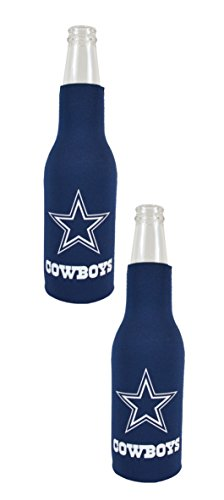 Football League Fan Shop Authentische NFL 2er Pack Isolierte Flasche Kühler, Dallas Cowboys ()