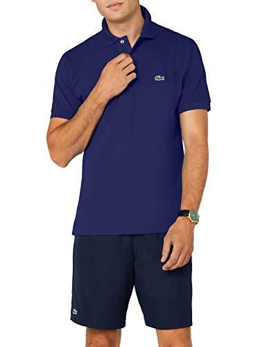Lacoste Herren Regular Fit Poloshirt L1212, Blau (Ocean), M (Herstellergröße: 4)