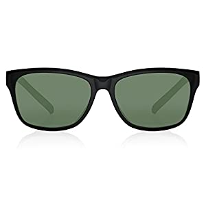 Fastrack UV protected Square Men's Sunglasses (P357BK1|41 millimeters|Smoke (Grey / Black))