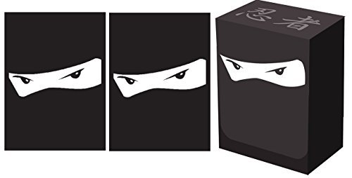 100 Legion NINJA Deck Protectors + Deck Box COMBO Set Legion Supplies GLOSS Sleeves 2-Packs - Standard Magic the Gathering Size by Legion Supplies