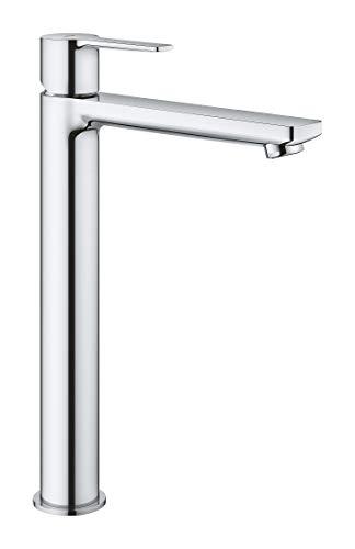 Grohe Lineare - Grifo de lavabo monomando con caño extra alto para lavabos tipo bol de sobremueble (23405001)