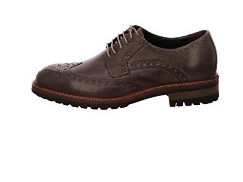 nicolabenson  9740a, Chaussures de ville à lacets pour homme Dunkel-Grau