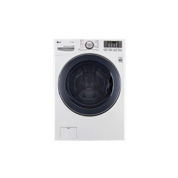 LG F1K2CS2W Freestanding Front-load 17kg 1100RPM A++ White washing machine - washing machines (Freestanding, Front-load, White, Left, LED, Black)
