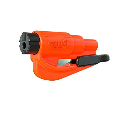 Resqme GBO-RQM-ORANGE Das Rettungswerkzeug als Schlüsselanhänger, Orange, 1er-Set - Stück Verfügbar, Separat Erhältlich