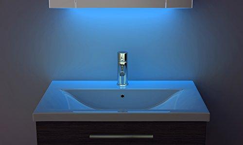 Badezimmerspiegelschrank mit Raumbeleuchtung, 120 cm - 3