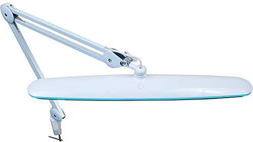 Komerci KML-9503 18W LED Arbeitsleuchte Arbeitslampe Lampe dimmbar und Lichttemperatur wählbar, flexibler Gelenkarm, weiß - Glühlampen-dimmer Umschalten