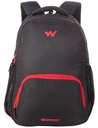Wildcraft Polyester Black  Laptop Backpack (Traverse 1 : Wildcraft : Black)