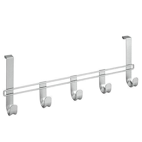 Metaltex 294544 Türhängeleiste mit 5 Haken
