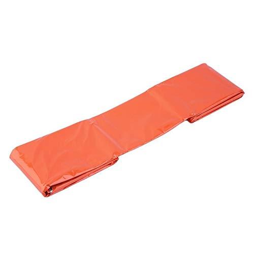 Wenwenzui-FR OUTAD Sac de Couchage d'urgence Sac de Survie réfléchissant Thermique Orange