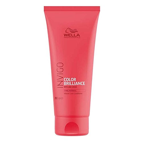 Wella Professionnals Conditionneur pour Cheveux Colorés Fins à Normaux Brilliance Normal 200ml