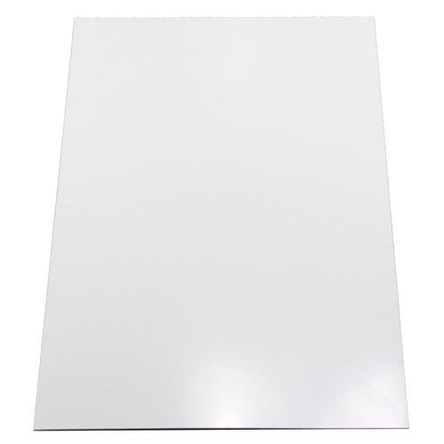 Magnet Expert - Lámina de pizarra blanca flexible y magnética (parte posterior autoadhesiva, tamaño A4, 297 x 210 x 0,8 mm)