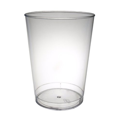Clear Plastic Tumbler Glasses 10 oz 20 Count