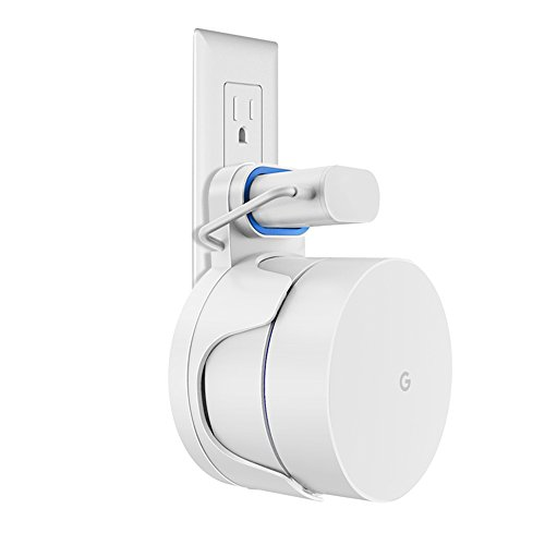 Outlet Wall Mount Holder Bracket for Google WiFi routers