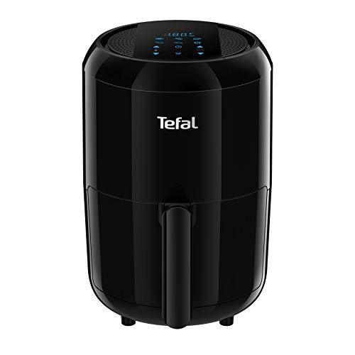 Tefal EY3018 Easy Fry Compact Digital Heißluftfritteuse (1400 Watt, Fassungsvermögen: 1,6 Liter, 6 automatische Programme, Thermostat) schwarz