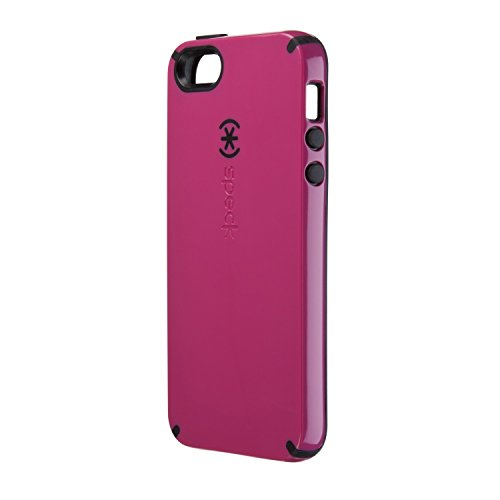 yShell Case für Apple iPhone 5 Raspberry pink/schwarz ()