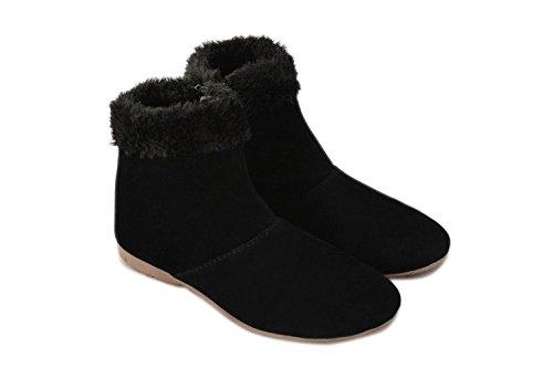 Thari Choice Comfortable Woman Long Black Shoe