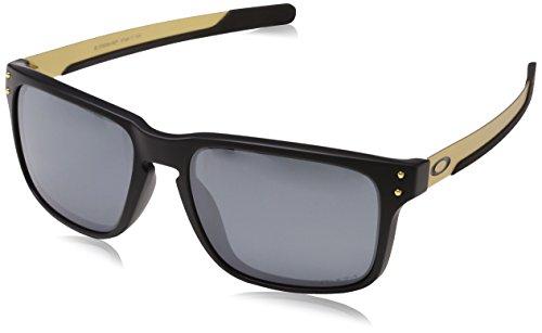 Oakley Herren Holbrook Mix 938409 Sonnenbrille, Mehrfarbig (Matte Black), 57