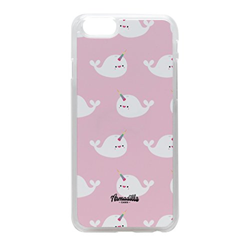 cute-narwhal-pattern-crystal-clear-hard-plastic-case-for-iphone-6-by-tom-pearson-free-crystal-clear-