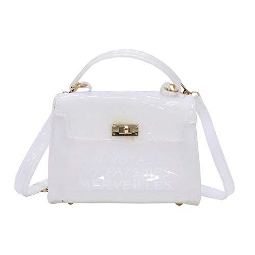 PVC Transparente Umhängetasche Damen Messenger Bag Mit Sub-Tasche, Koreanischen Stil Vielseitige Umhängetasche Handtasche Für Frauen - Tasche Koreanischen