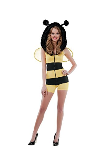 Bumble Bee Babe Womens Fancy dress costume Small