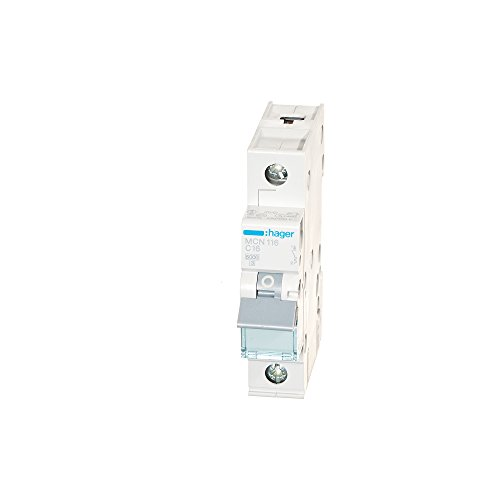 Hager MCN116 LS-Schalter 1P 6kA C-16A 1M Schraubtechnik