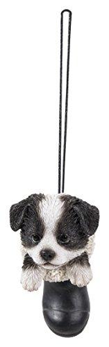 Hanging Pet Pals Vivid Arts – Colgante para mascotas – Colgante de perro de oveja Wellie (HPP-W63-G)