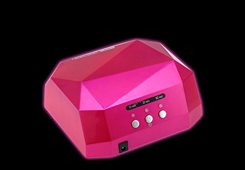 Therapie-rose (SZ&LAM Nagel lichttherapie Maschine trockner LED Nagel Lampe USB schnittstelle stromversorgung Timing Display licht Therapie licht 7 cm * 15,5 cm * 17,5 cm, Rose Red)
