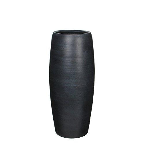 241849 Vase, Owen, schwarz