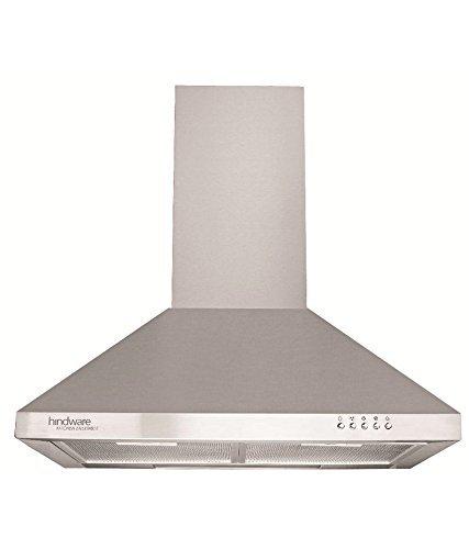 Hindware 60 cm 820 m3/h Chimney (C100082,Silver)